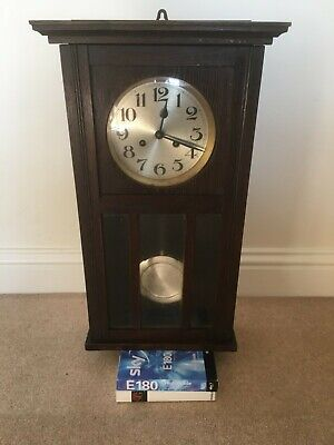 Vintage Grandmother Pendulum Wall Clock