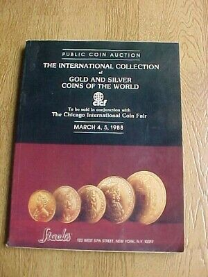 1988 The International  Collection Of Gold & Silver Coins Auction Catalog