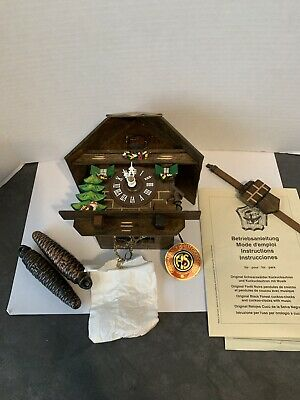 vintage german black forest cuckoo clock