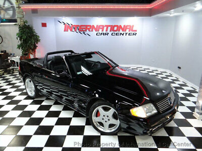2002 Mercedes-Benz SL-Class SL500 2002 Mercedes Benz SL500 R129 Roadster AMG Sport Pkg Triple Black Just Serviced!