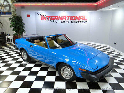 1980 Triumph TR7 Roadster  Triumph TR7 Roadster 1 Owner 28k Miles 5-Spd Rust Free & Original Collector Car!