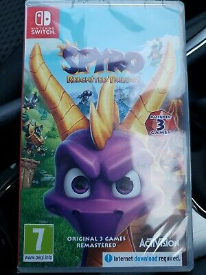 Spyro Reignited Trilogy (Switch) - BRAND NEW AND SEALED - QUICK DISPATCH