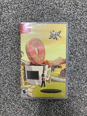 Donut County - Nintendo Switch - NS - Limited Run - Game Games - Iam8bit - Rare