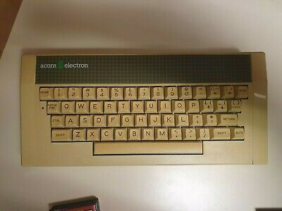 Acorn Electron vintage home computer working With composite colour fix