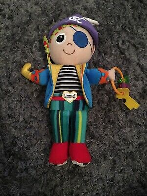 Lamaze Pete The Pirate Play And Grow Toy Used