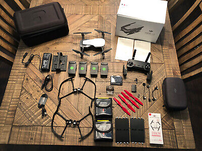 DJI Mavic Air Artic White Fly More Combo + Mint Condition