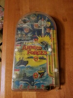 Armed Forces handheld pinball game