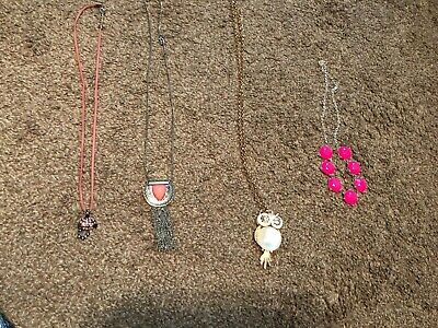 Girl Necklace Lot