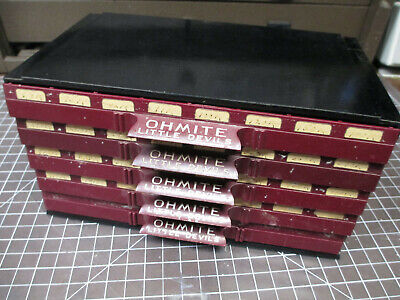 Vintage Ohmite Little Devils Storage with  Resistors