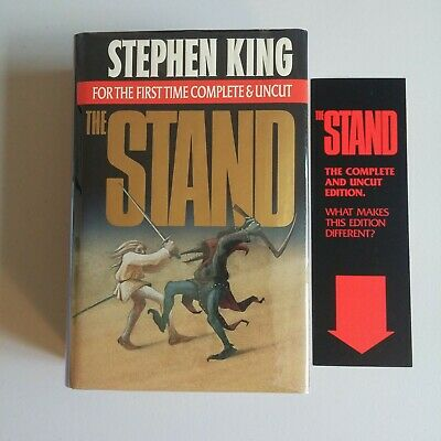 Signed 1st Trade HC Printing - The Stand by Stephen King Complete and Uncut 1990