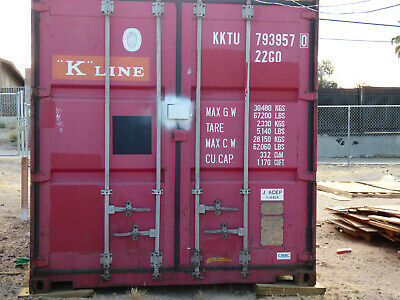 20ft Used Wind & Watertight Shipping Containers