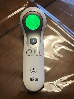 Braun NTF3000 No Touch Forehead Digital Thermometer