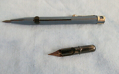 alter Stift, alter Metallstift, Kombistift, Kombination aus Bleistift und Federh