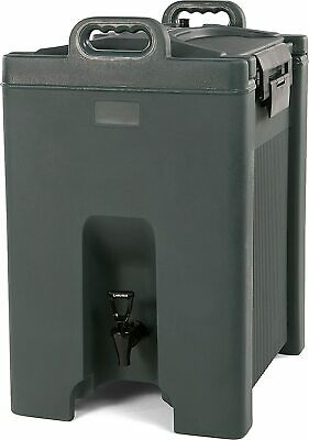 Carlisle XT1000059 Cateraide Insulated Beverage Server/Dispenser 10 Gallon Slate