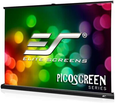 "Elite Screens PicoScreen 35"" 4:3 Light-Weight Portable Table Projection Screen"