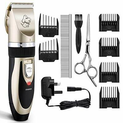 Dog Clippers, OMORC Cat Hair Trimmer Low Noise | Rechargeable Cordless Pet