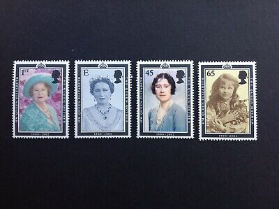 Gb 2002 Sg2280-2283 Queen Mother Commemoration Mnh