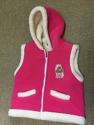 Griffen.    Brand New Girls Hooded Gillet Age 3-5 Years
