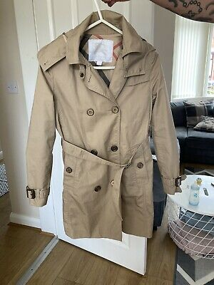 burberry trench coat Girls Age 10 Years