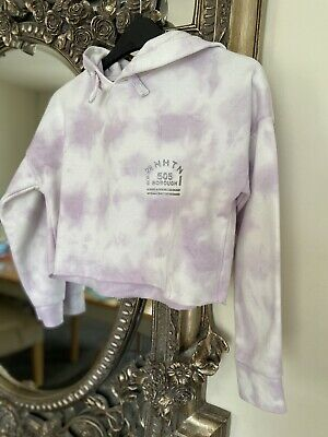 Girls Newlook Cropped Hoodie Age 9 Immaculate