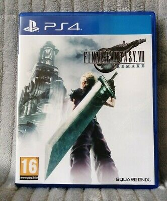 Final Fantasy VII (7) Remake for Sony Playstation 4. Perfect Condition