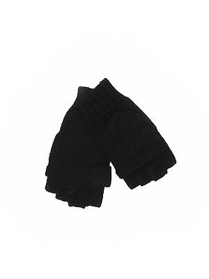 Unbranded Women Black Mittens One Size