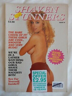 Vintage Adult Glamour Magazine Shaven Stunners Issue 35