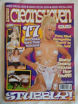 Vintage Adult Glamour Magazine Ravers Clean Shaven Special Issue 4
