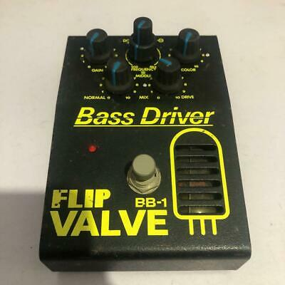 Guyatone FLIP BB-1 Bass Driver Valve Tube Vintage Effects Pedal Made in Japan