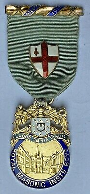 Masonic Jewel 1914 RMIB Steward Royal Masonic Institution for Boys
