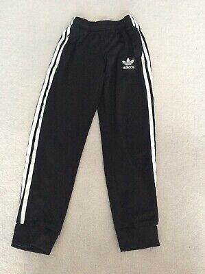 Boys Adidas Tracksuit Bottoms Age 9-10