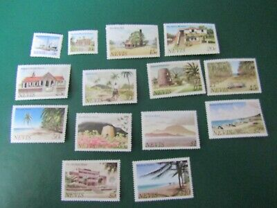 1981 Mint Set Of Stamps From Nevis