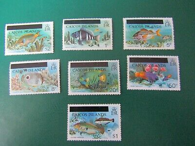 Mint Fish Stamps From Turks And Caicos Islands