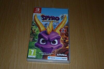 Nintendo Switch Game Spyro Reignited Trilogy