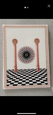 Ceramic Masonic decorative tile...