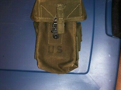 Vietnam War Era US Army Marine Corps Small Arms Pouch Dated 1962