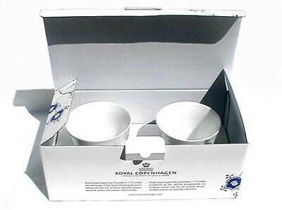 NIB Royal Copenhagen Blue Elements Multi Cups - 2pc