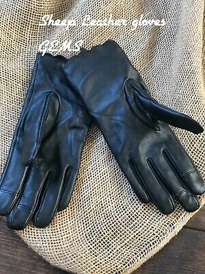 Women's Size S  XS  T Brown Sheep Leather Gloves