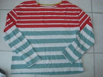 Boden Johnnie B *Lila* Breton Girls Striped Long Sleeve Top ~ Age 13-14 yrs