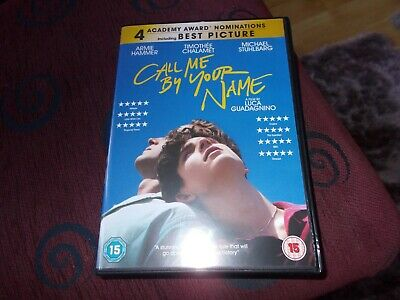 Call Me By Your Name .......2018 DVD
