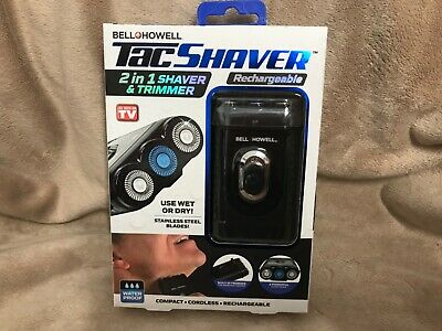 Bell & Howell TacShaver 2in1 Shaver Trimmer brand new