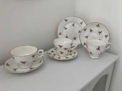 Vintage China Job Lot - Roses - Staffordshire, Pall Mall, Duchess