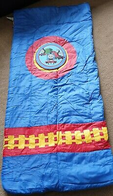 Thomas and Friends kids sleeping bag and back pack