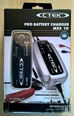 CTEK MXS 10 12V/10A PRO Battery Charger