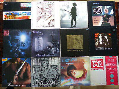Sammlung 12x Maxi Gothic Indie Punk Pop (The Cure Sisters Of Mercy Depeche Mode)