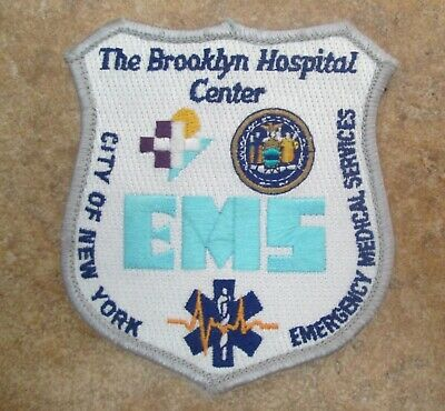 The Brooklyn Hospital Center Ems New York Emergency Medical Services Patch
