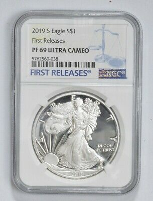 2019-W Proof American Silver Eagle - NGC PF69 FR *750