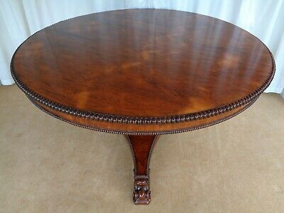 Antique Regency Dining Table Round Rosewood Centre Table Gillows Design