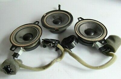 SAAB 9-3 93 Front Dash Speakers Tweeters Pioneer Set 12788054 12786607 12800757