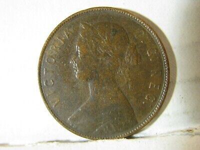1880 Low O. Canada, Newfoundland. Large Cent Piece.